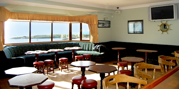 Killeens of Arranmore island guesthouse Donegal bar